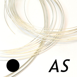 Argentiumtråd medelhård 0,64 mm argentium silver