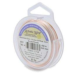 Artistic Wire rose gold color 0,5 mm - Tillfälligt parti