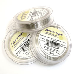 Artistic Wire 0,3 mm rostfritt stål