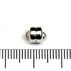 Magnetlås 6 mm sterling silver - Utgående vara
