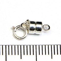 Konverterare magnetlås 4 mm sterling silver