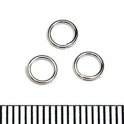 Öppen motring 5 mm 0,64 mm sterling silver