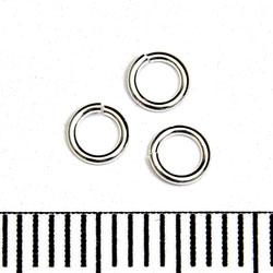 Öppen motring 4 mm 0,64 mm sterling silver