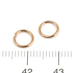 Öppen motring 6,6 mm 0,76 mm brons