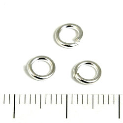 Öppen motring 5,5 mm 1,0 mm sterling silver