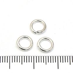 Öppen motring 7 mm 1,27 mm sterling silver