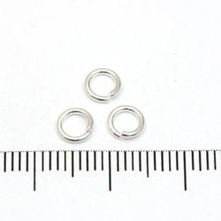 Öppen motring 5 mm 0,89 mm sterling silver