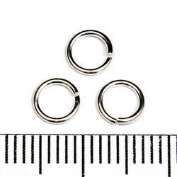 Öppen motring 5,5 mm 0,76 mm sterling silver