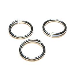 Öppen motring 10 mm 1,0 mm sterling silver