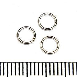 Lödd motring 5 mm 0,64 mm sterling silver