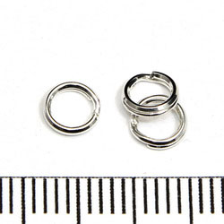 Splitring 5,2 mm sterling silver