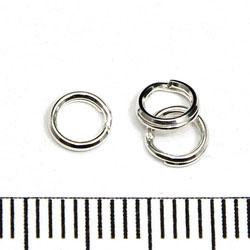 Splitring 5,2 mm sterling silver