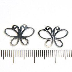 Länk fjäril 15 x 12 mm sterling silver