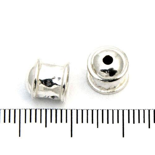 Ändhylsa 8 mm sterling silver