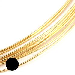 Mässingtråd 0,64 mm mjuk - Utgående vara