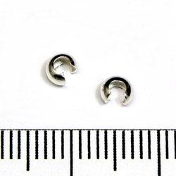 Klämpärlegömma 3 mm sterling silver