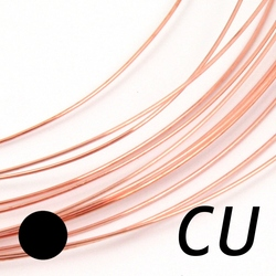 Koppartråd 0,4 mm mjuk