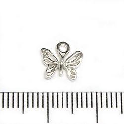 Berlock fjäril 9 mm sterling silver
