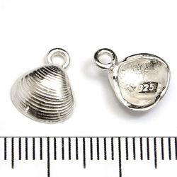 Berlock snäcka 10 mm sterling silver