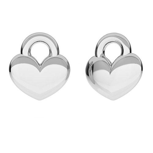 Berlock hjärta 9 mm sterling silver