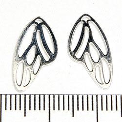 Hänge trollsländevinge 18 x 9 mm sterling silver