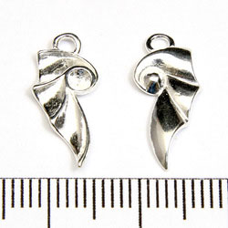 Drakvinge 17 x 8 mm sterling silver