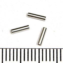 Rakt rör 5 x 1,25 mm sterling silver