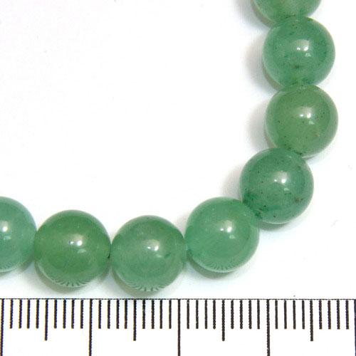 Pärlor i grön aventurin 8 mm