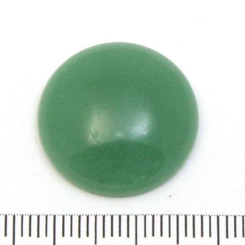 Cabochon i grön aventurin 20 mm