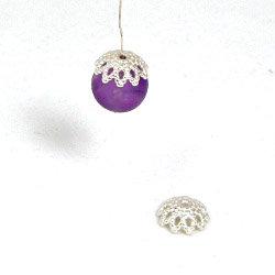 Pärlhatt för 9-11 mm pärla sterling silver