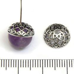 Pärlhatt 10 mm sterling silver