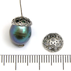Pärlhatt 8 mm sterling silver