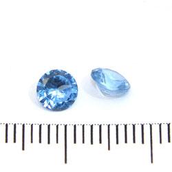 Syntetisk zirkonblå spinell 5 mm