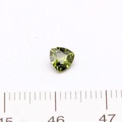 Cubic zircon trekantig grön 5 mm - Utgående vara