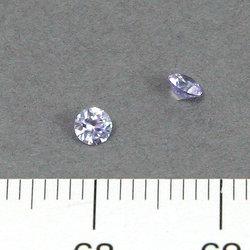 Cubic zircon rund lavendel 3 mm