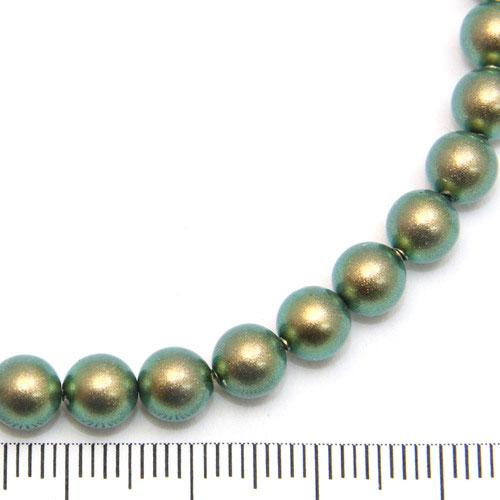 Swarovski Crystal Pearl 6 mm iridescent green - Utgående vara