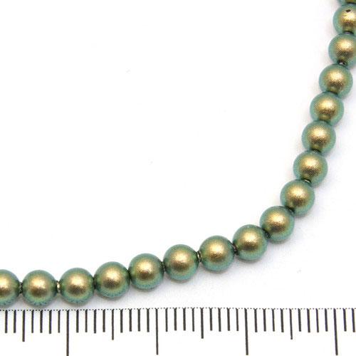 Swarovski Crystal Pearl 4 mm iridescent green - Utgående vara
