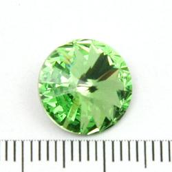 Swarovski rivoli 12 mm peridot