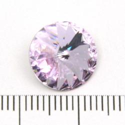 Swarovski rivoli 12 mm violet foiled