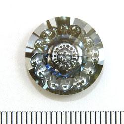 Swarovski vision rund 16 mm crystal blue shade - Utgående vara