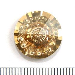 Swarovski vision rund 16 mm crystal golden shadow