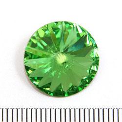 Swarovski rivoli 16 mm peridot (grön)