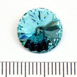 Swarovski rivoli 12 mm light sapphire