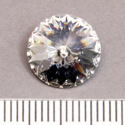 Swarovski rivoli 12 mm crystal foiled