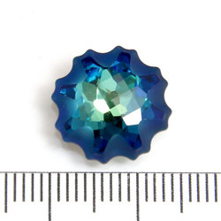 Swarovski Jellyfish 14 mm crystal bermuda blue