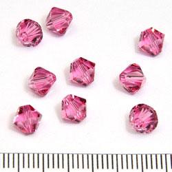 Swarovski Xilion bicone 6 mm rose (rosa)