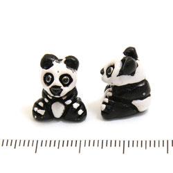 Panda i keramik c:a 16 mm - Utgående vara