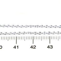 Tunn ankarkedja 1,7 x 2 mm på löpmeter sterling silver