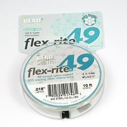 Smyckevajer FlexRite 49-trådars 0,45 mm sterling silver