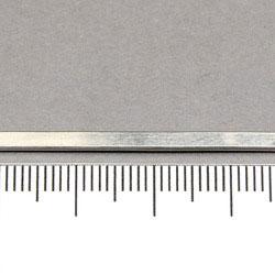 Rundad rektangulär silvertråd 2,67 x 1,14 mm sterling silver